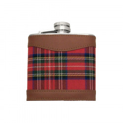 Flasque Tartan Rouge 150 ml