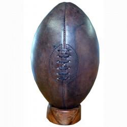 Ballon de Rugby Vintage en Cuir