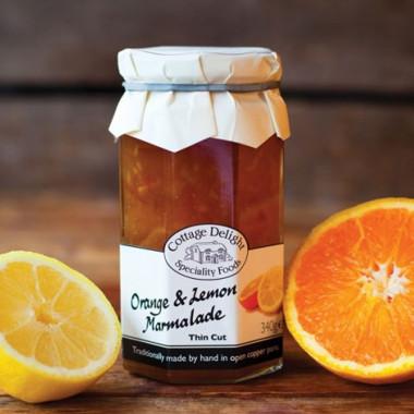 Marmelade Orange & Citron Cottage Delight 340g