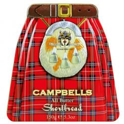 Shortbreads Campbells (coffret Kilt) 150g