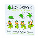 Coaster Leprechaun Irish Seasons