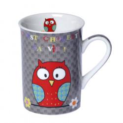 Mug Porcelaine Chouette La Vie ! 250ml