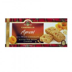 Cookies Abricot et Chocolat blanc 125g