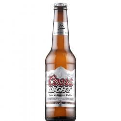 Coors Light 33cl 4°