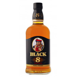 Nikka 8 ans Black  70cl 40°