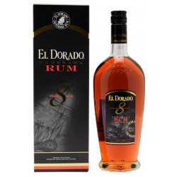 Rhum El Dorado 8 ans 70cl 40°