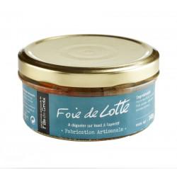 Foie de Lotte Conserverie de Groix 140g