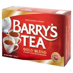 Barry's Thé Gold Blend 80 sachets 250g