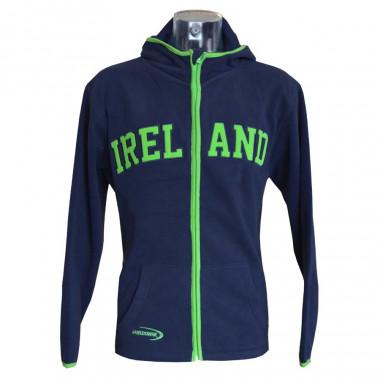 Veste Polaire Ireland Marine & Verte Lansdowne