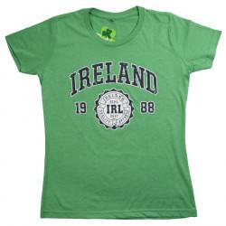 T-shirt Ireland Vert Chiné