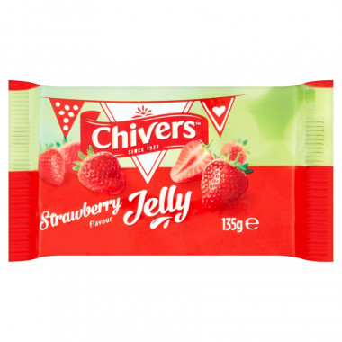 Jelly Chivers Fraise 135g
