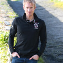 Polo Noir Breizh Celtic Alliance