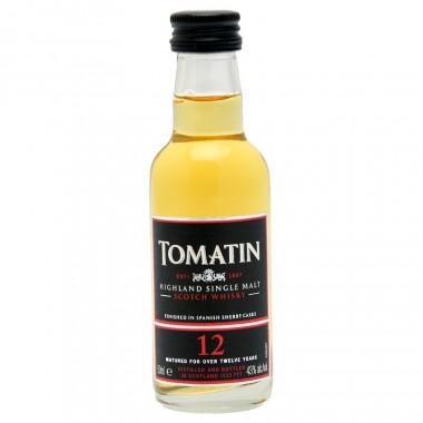 Mignonnette Tomatin 12 ans 5cl 43°