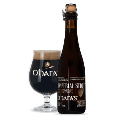 O'hara Imperial Stout 20th Anniversary Edition 37.5cl 10°