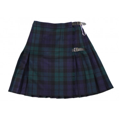 Mini Kilt Blackwatch Whiterose