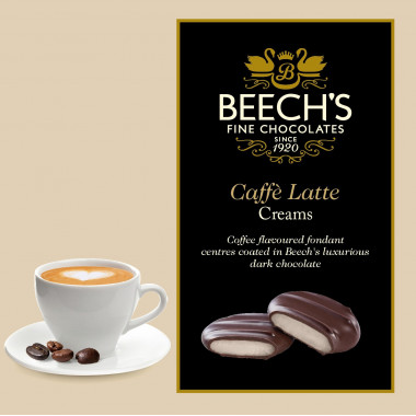 Chocolats Caffe Latte Creams Beech's 90g