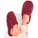 Chaussons Basic Laine Rouge Alwero