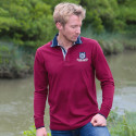 Polo Wellington Bordeaux Black Wellis