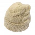 Bonnet Mérinos Naturel Carraig Donn