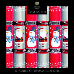 Party Crackers Fun Family Tom Smith x12