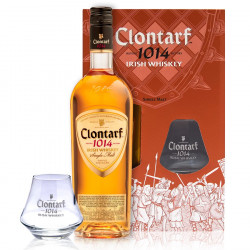 Clontarf Single Malt 70cl 40°  + 1 verre