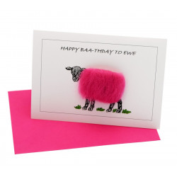 Carte Postale Happy Baa-thday to Ewe