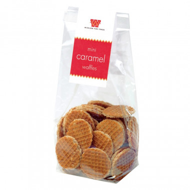 Mini waffles au caramel sachet 400g