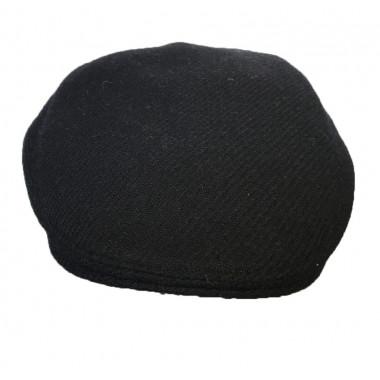 Casquette Tweed Bleu Marine Unie Hanna Hats