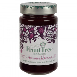 Fruit Tree Summer Berries 100% Organic Fruit 250g