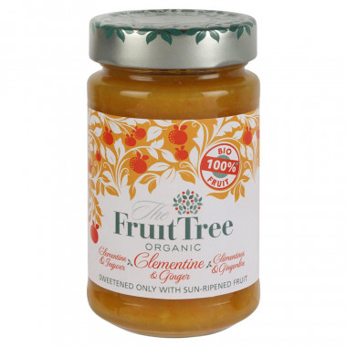 Fruit Tree Organic Clementine & Ginger Spread 250g
