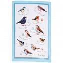 Tea Towel Birds 48 x 74 cm
