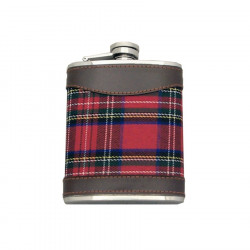 Red Tartan Flask 200 ml