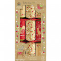 Tom Smith Kraft Christmas Crackers x6