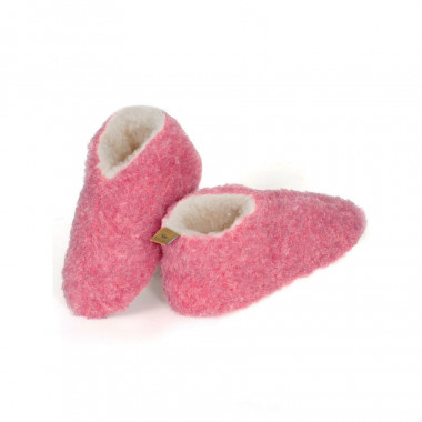 Chaussons Skiper Laine Rose Alwero