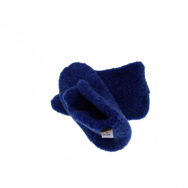 Alwero Blue Smarty Wool Slippers