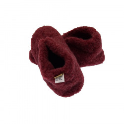 Alwero Red Smarty Wool Slippers