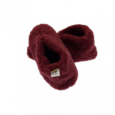 Chaussons Smarty Laine Rouge Alwero