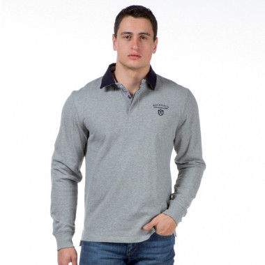 Ruckfield Light Grey Polo Shirt