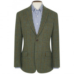 Brook Taverner Stromay Harris Tweed Tiles Jacket