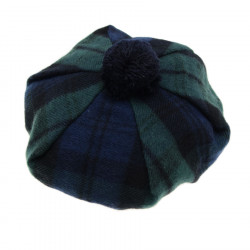 Black Watch Tartan Beret