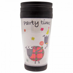 Party Time Travel Mug 350ml