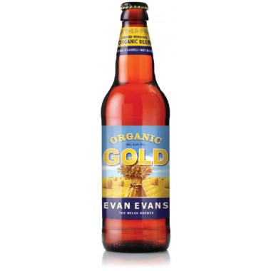 Bière Biologique Evan Evans Gold 50cl 4.2°