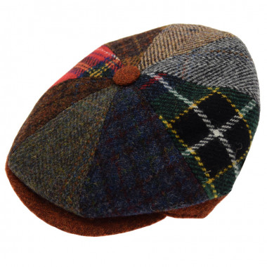 Celtic Alliance Harris Tweed Irish Cap