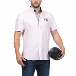 Ruckfield Pink Short Sleeves Shirt