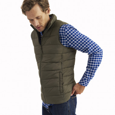 Tom Joule Khaki Sleeveless Jacket