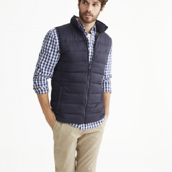 Tom Joule Navy Blue Sleeveless Down Jacket