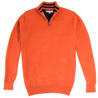 Pull Col Montant Zippé Orange Out Of Ireland