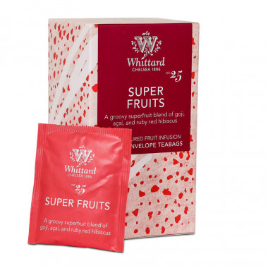 Whittard Super Fruits Infusion 20 Tea Bags 40g