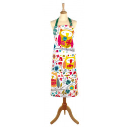 Ulster Weavers Cotton Owls Apron 70 x 85 cm