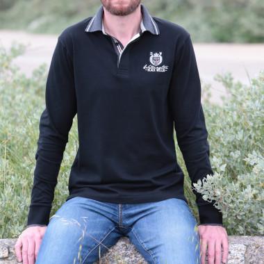 Black Wellis Black Wellington Polo Shirt